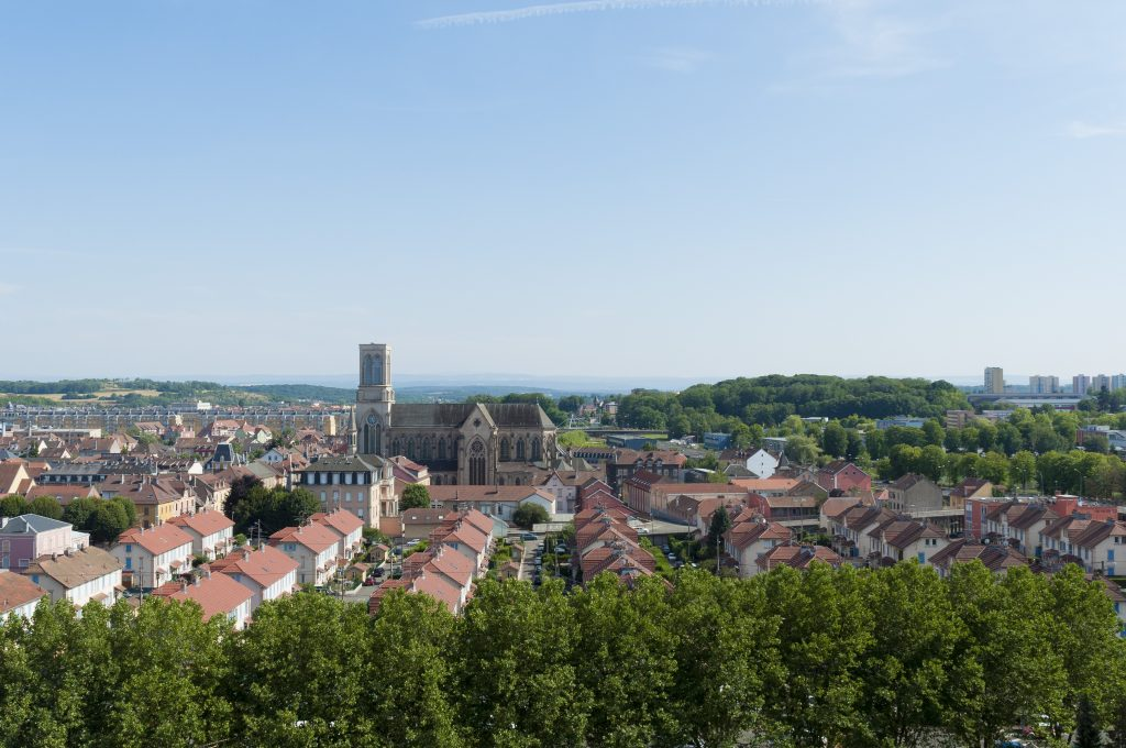 Ancienne cité ouvrière Alsthom à Belfort