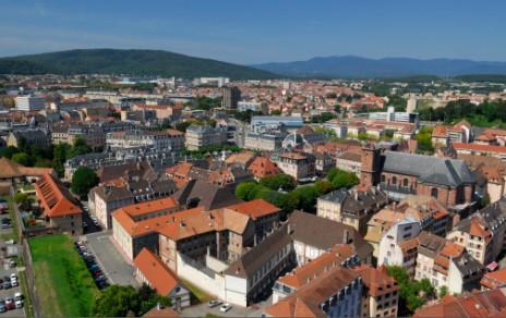Belfort, une ville verte sur l'axe Rhin-Rhône