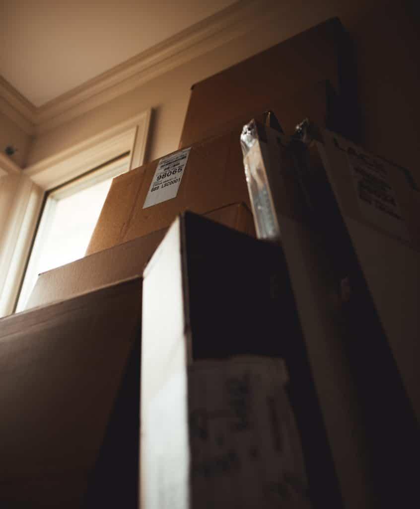 carton de déménagement pour Belfort